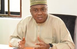 The President of the Senate, Dr. Abubakar Bukola Saraki