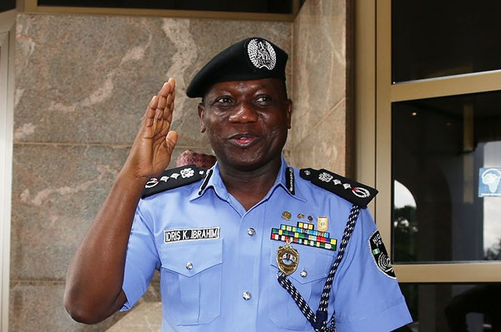 The Inspector General of Police, Ibrahim Idris